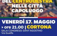I Sindaci di Arezzo, Siena e Grosseto a Cortona per sostenere Meoni