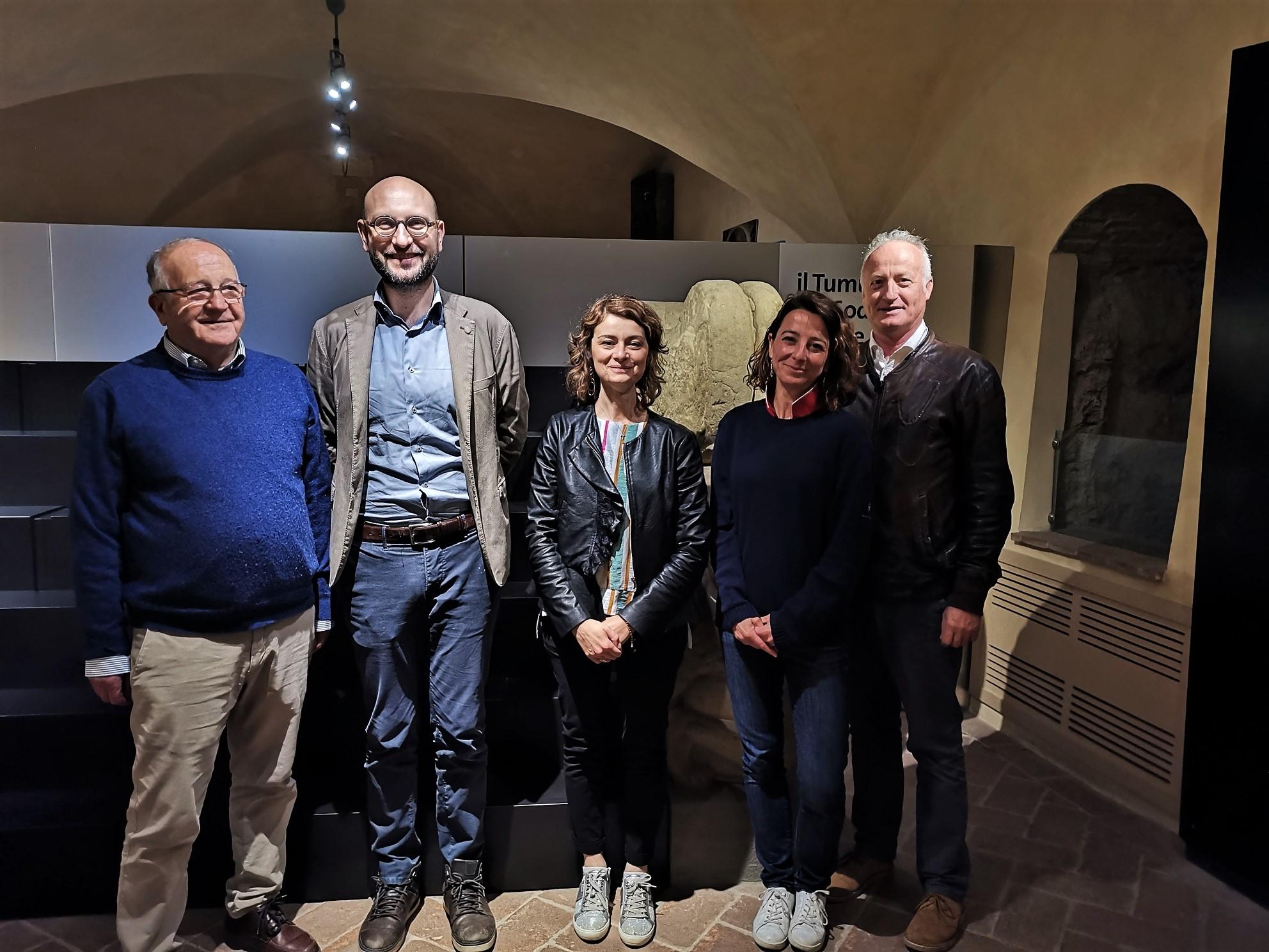 Firmato l'accordo fra la Soprintendenza Archeologia Belle Arti e Paesaggio per le province di Siena Grosseto e Arezzo, il Polo Museale della Toscana e il Comune di Cortona per la gestione e la valorizzazione del Parco Archeologico del Sodo