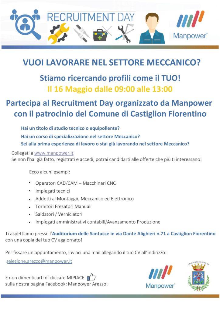 Castiglioni, iniziativa per chi cerca lavoro
