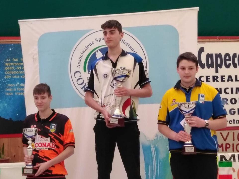 Bocce - Trofeo AVIS: Gara Nazionale Giovanile a Cortona Tra gli Under 18 vince il cortonese Mazzoni