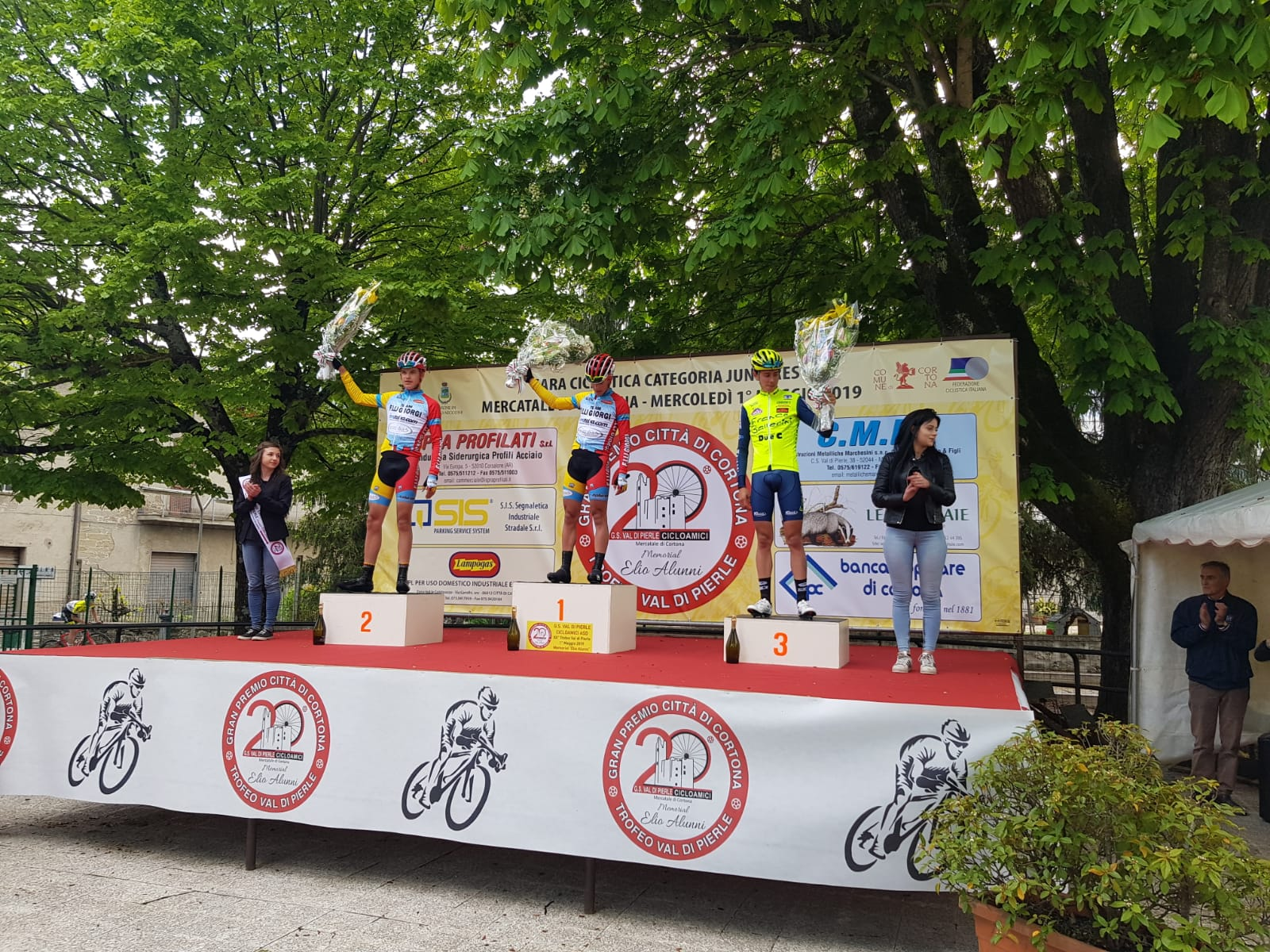 Trofeo Val di Pierle: gara bellissima, vince Martinelli
