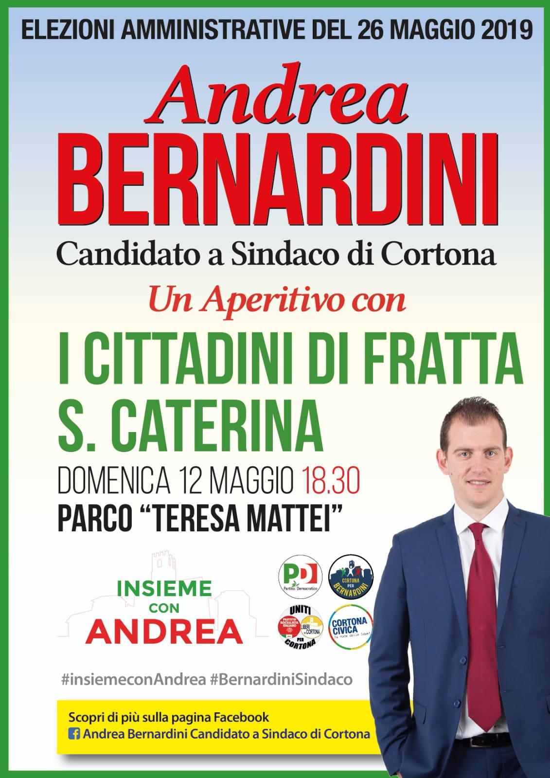 A Fratta Bernardini incontra la popolazione