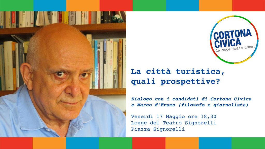 La città turistica: quali prospettive? Cortona civica col Prof. Marco d'Eramo
