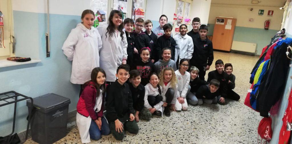 Una bella storia dalla classe 5C della scuola elementare Ghizzi di Castiglion Fiorentino