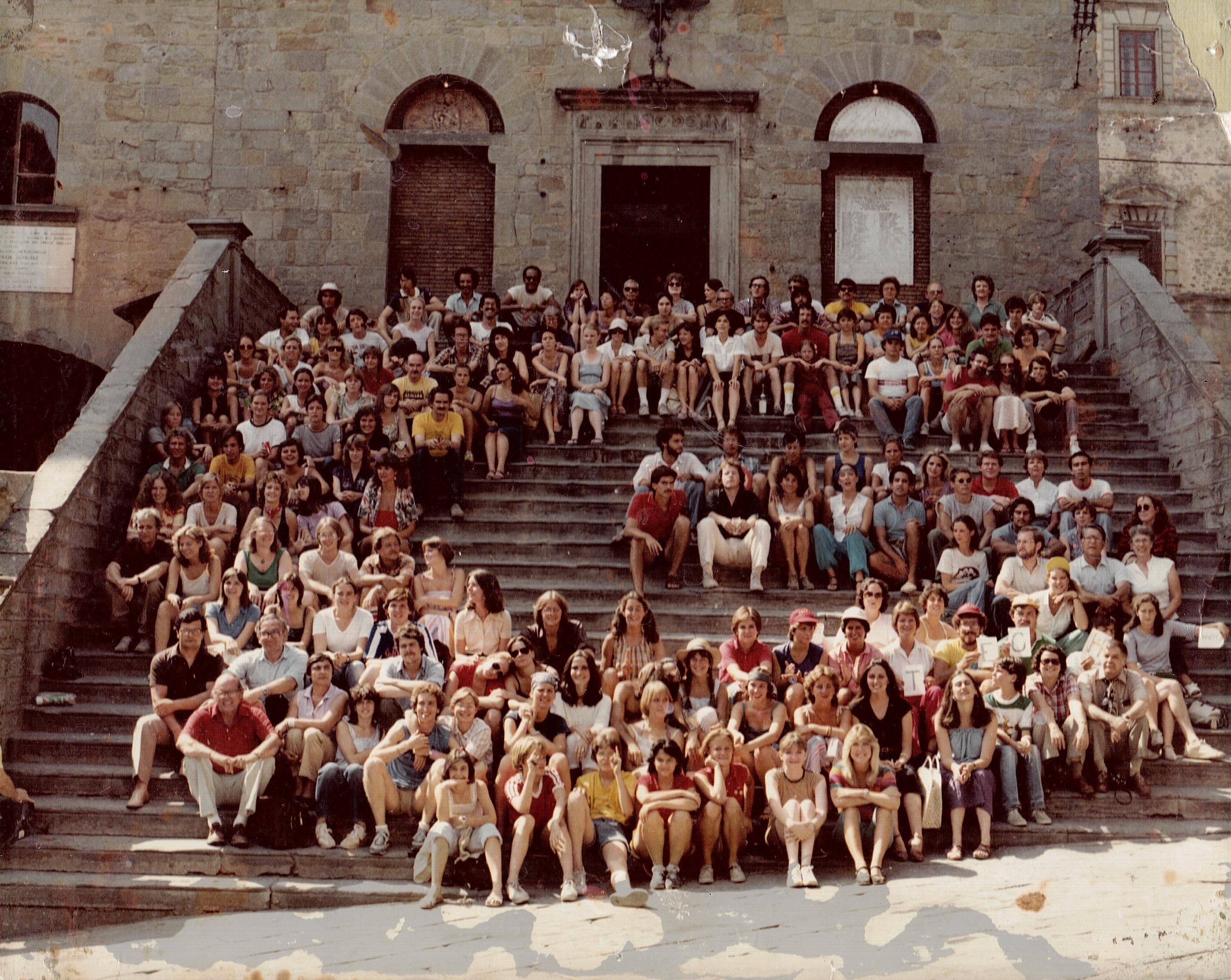 50 anni di ricordi fotografici tra Cortona e l'Università della Georgia in collaborazione con Cortona On The Move