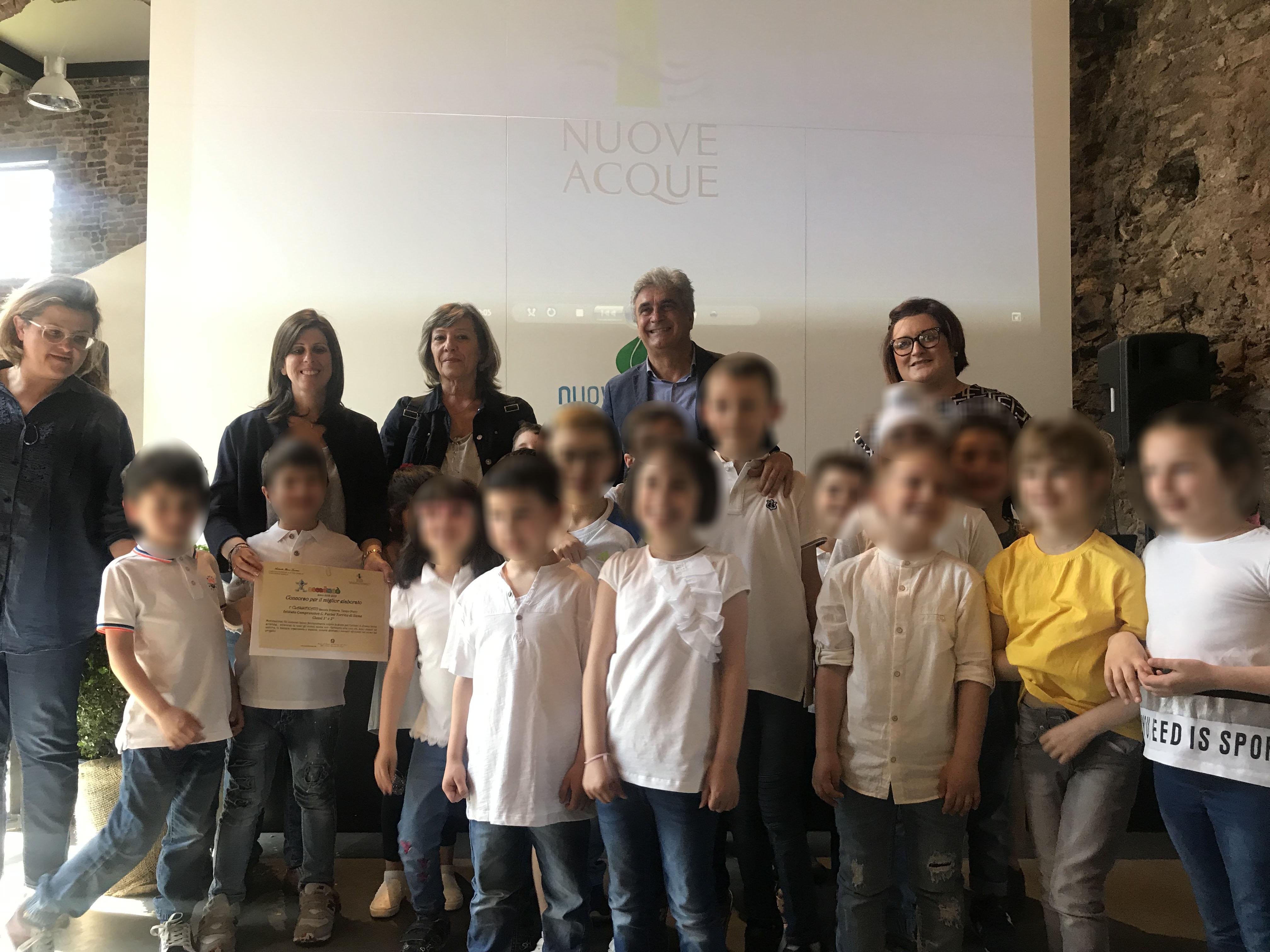 Nuove Acque premia i vincitori della campagna educativa