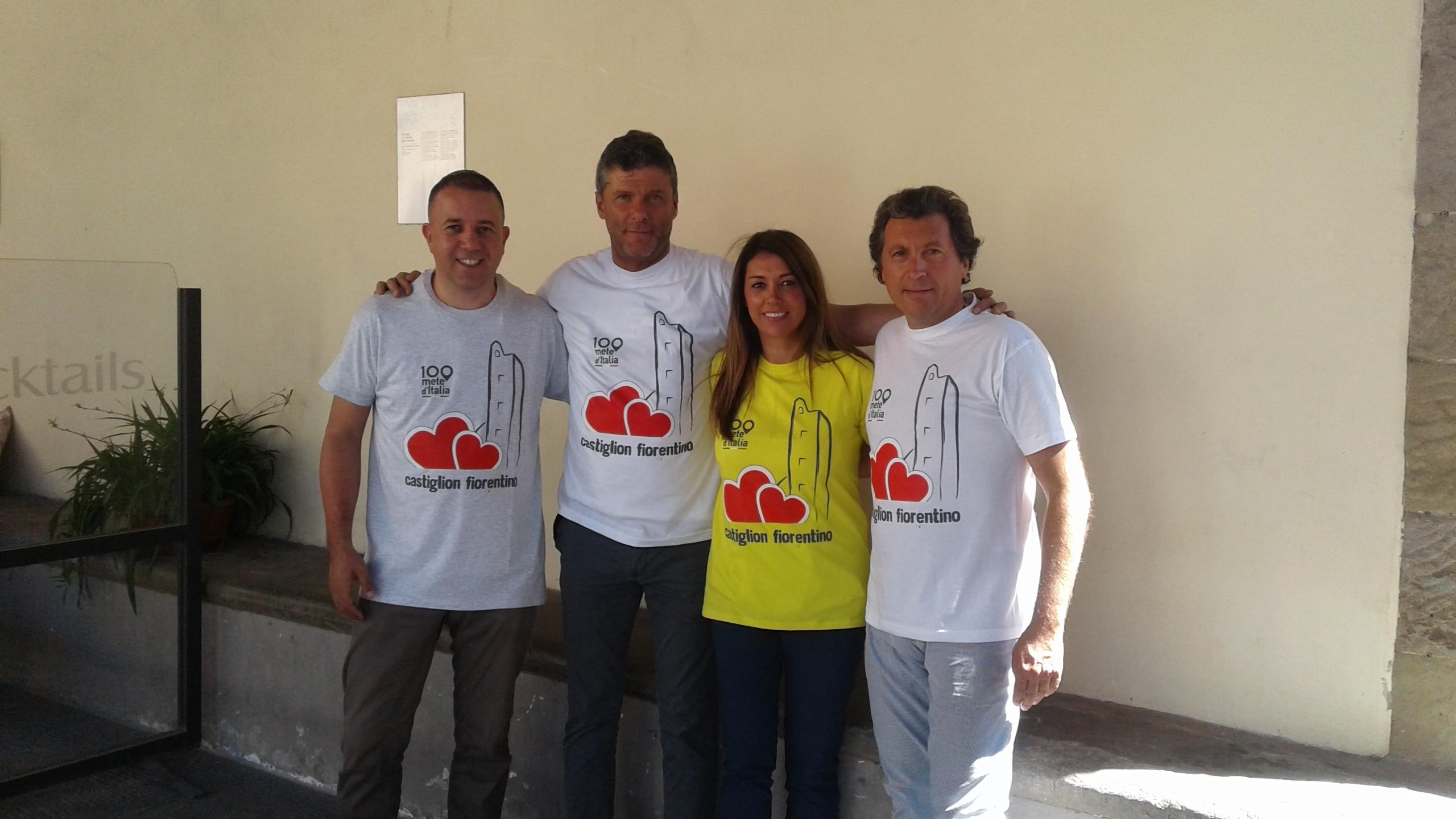 La nuova t-shirt ufficiale di Castiglion Fiorentino