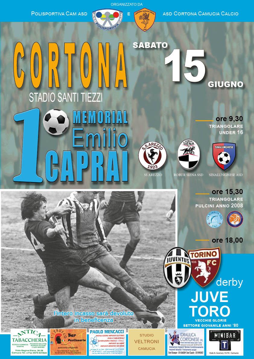 1° Memorial Emilio Caprai a Cortona