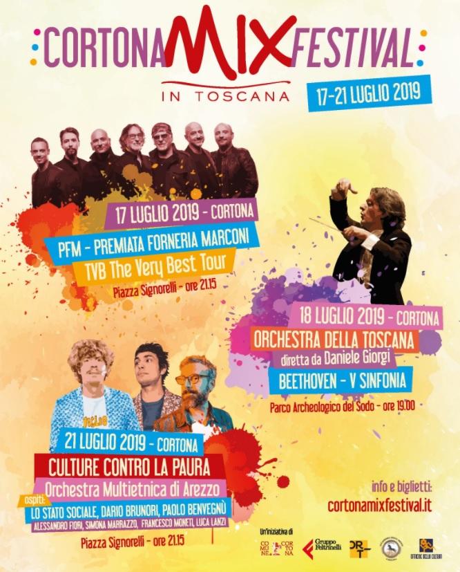 Mix 2019: PFM, Baudo, una serata per gli artisti locali, Beethoven al Parco Archeologico