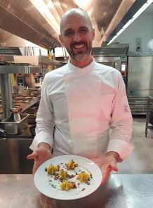 A Villa del Quar lo chef  Roberto di Benedetto equilibrista dei sapori