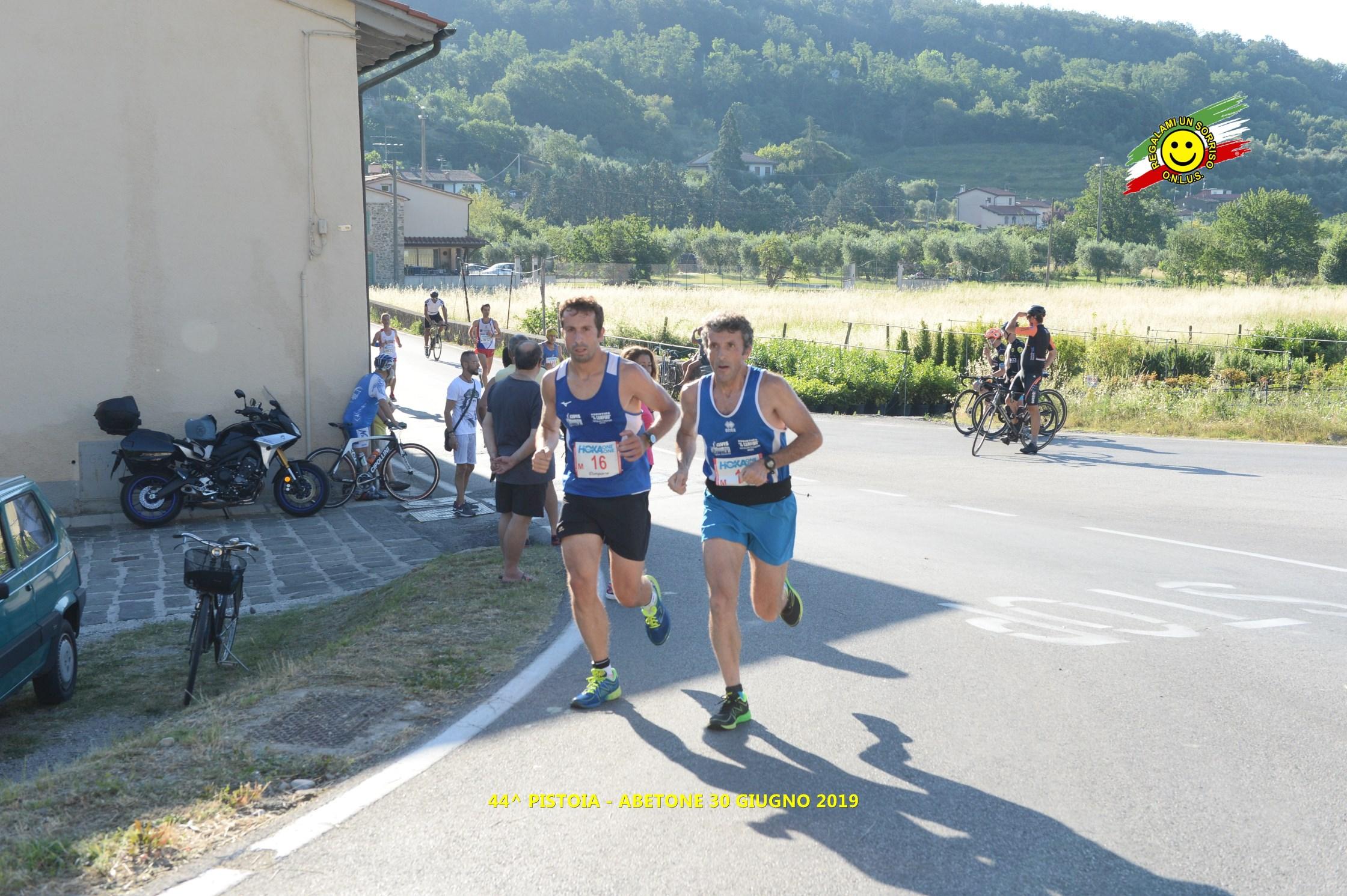Atleti della Valdichiana protagonisti alla Pistoia - Abetone