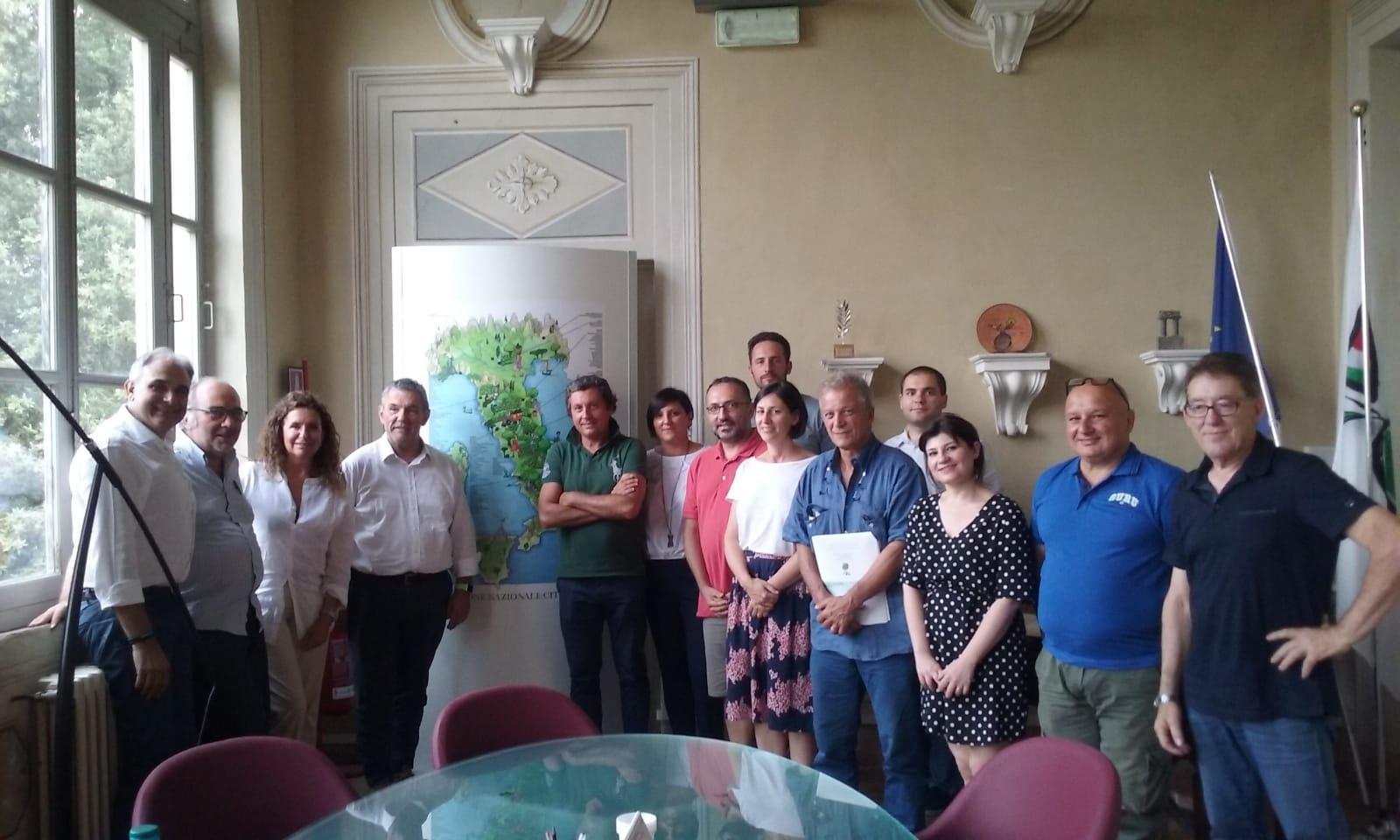 Mario Agnelli confermato nella carica di vice coordinatore vicario del Coordinamento Regionale Toscano delle Città dell'Olio
