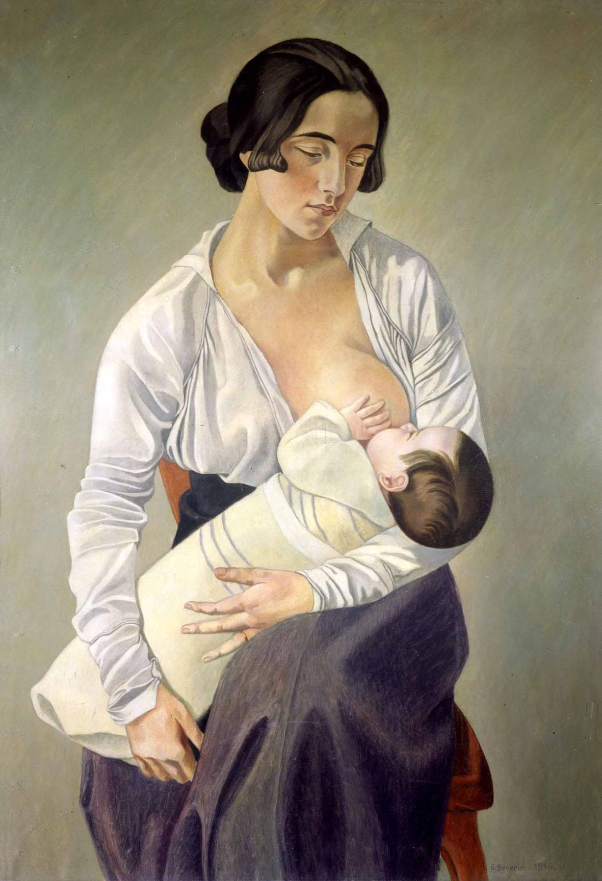 La Maternità del Severini in mostra a Firenze