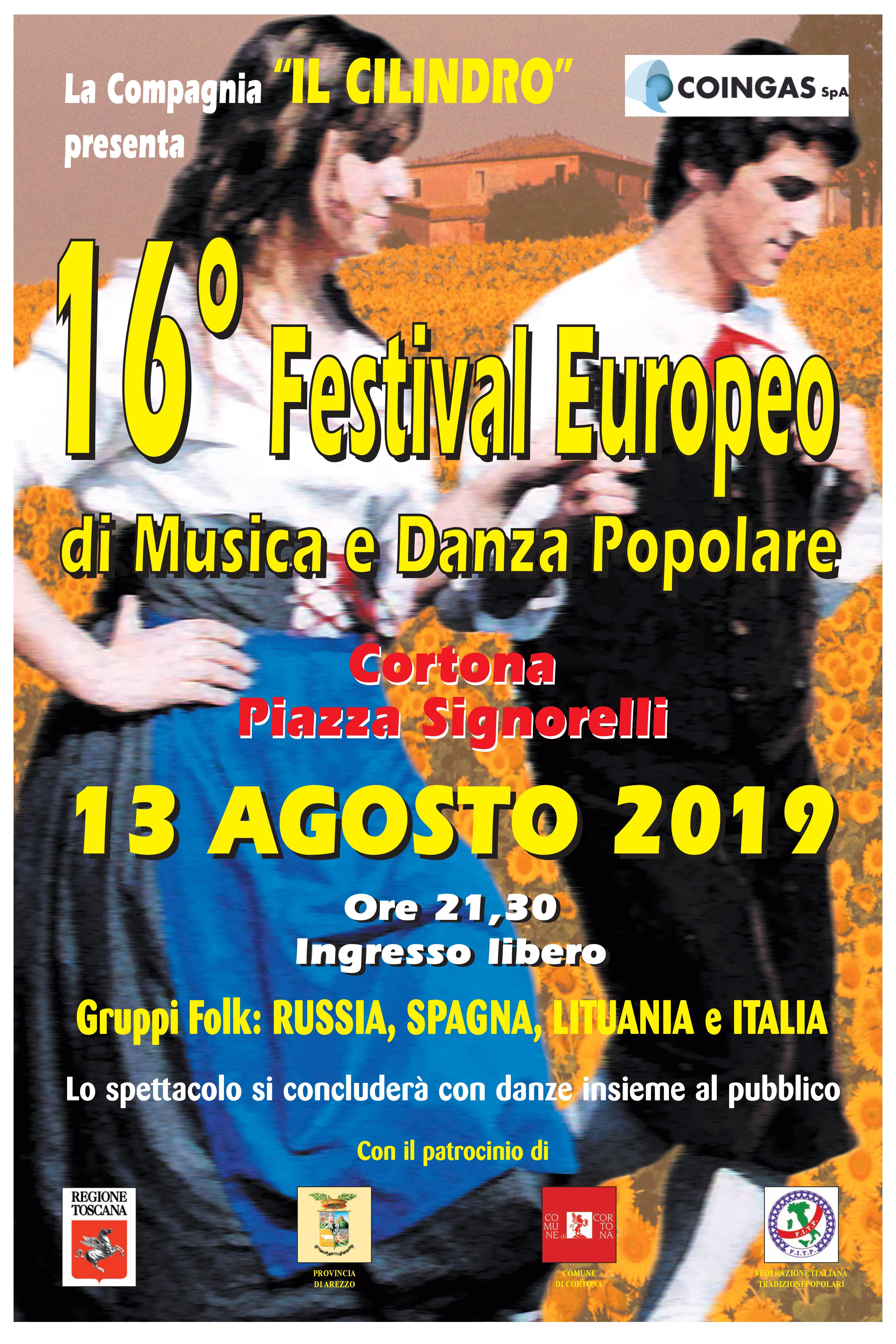 Festival Europeo di Musica e Danza Popolare a Cortona