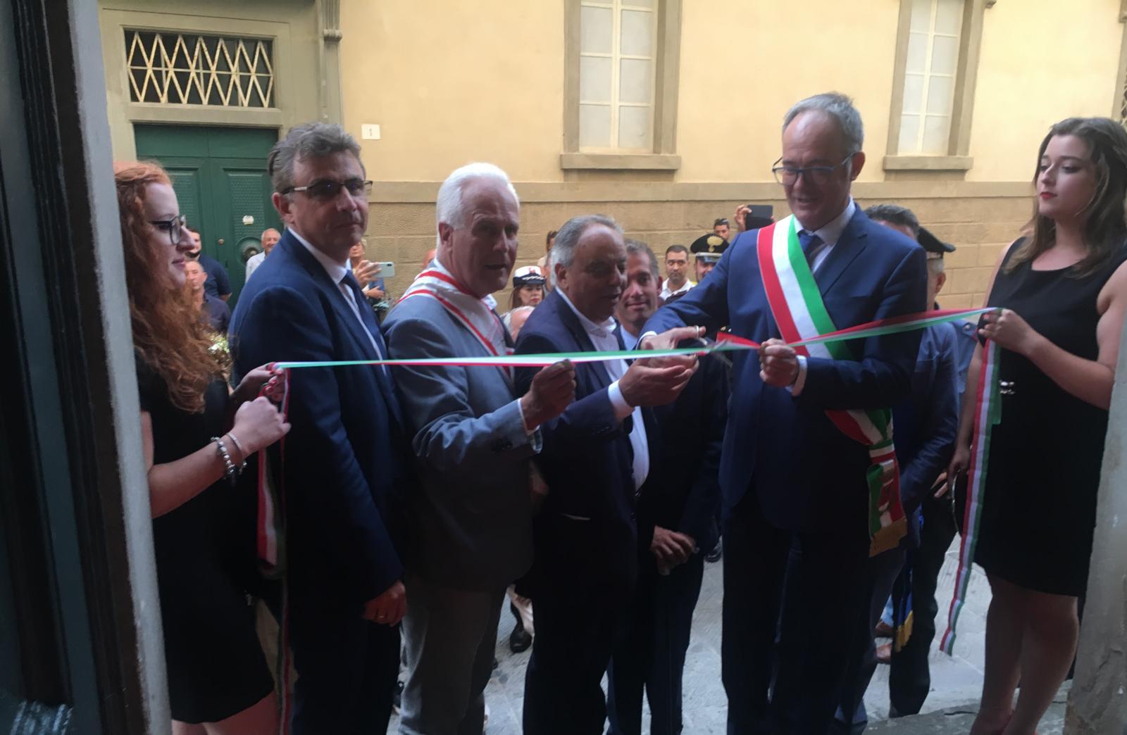 Il racconto dell'inaugurazione della 57esima CortonAntiquaria