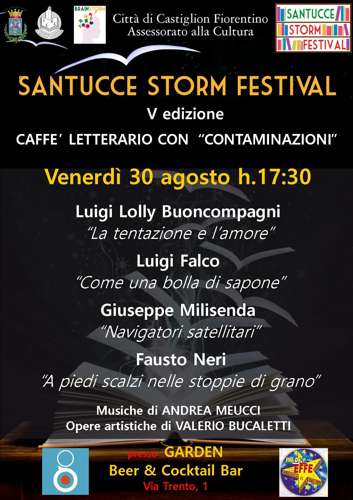 Santucce Storm Festival: venerdì 30 il terzo appuntamento