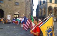 Grande festa a Cortona con il ricevimento dei Campi Lions Internazionali