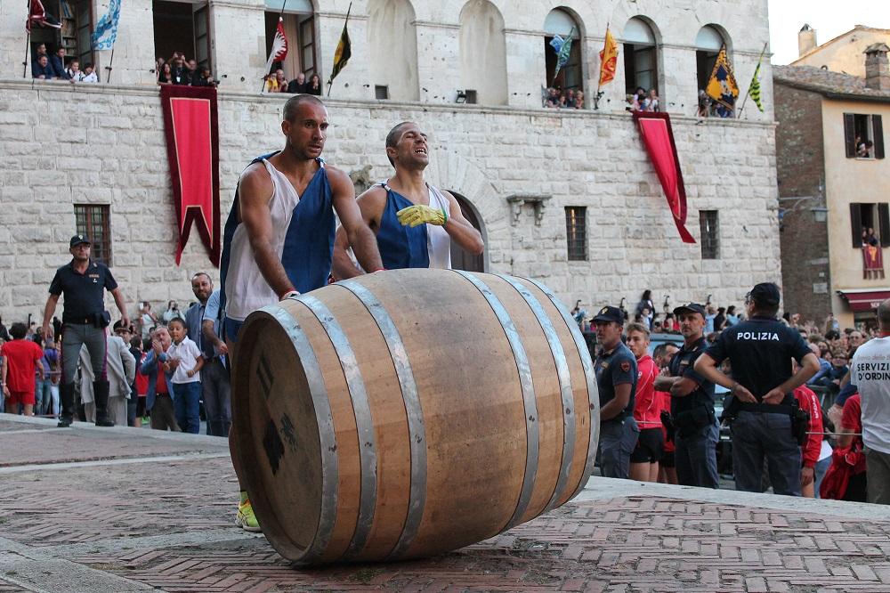Arriva il Bravìo delle Botti di Montepulciano, edizione 2019