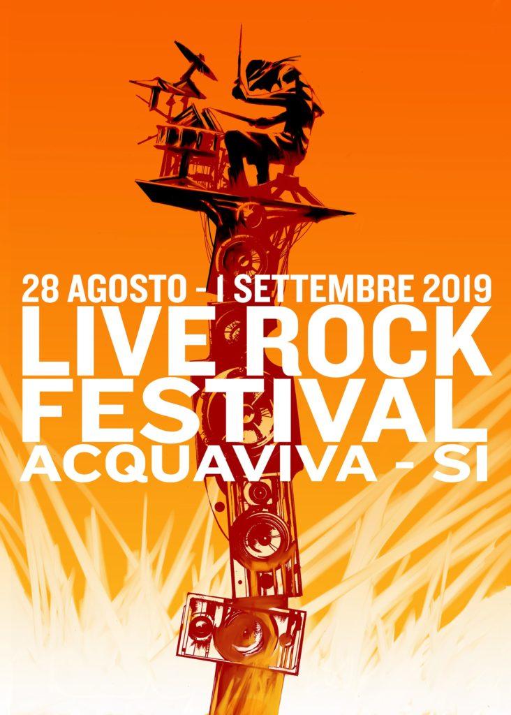 Ecco i nomi del 23° Live Rock Festival di Acquaviva