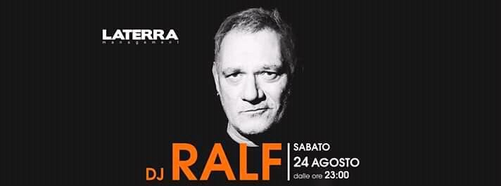 Ralf illumina la grande notte del Girifalco sabato 24 Agosto