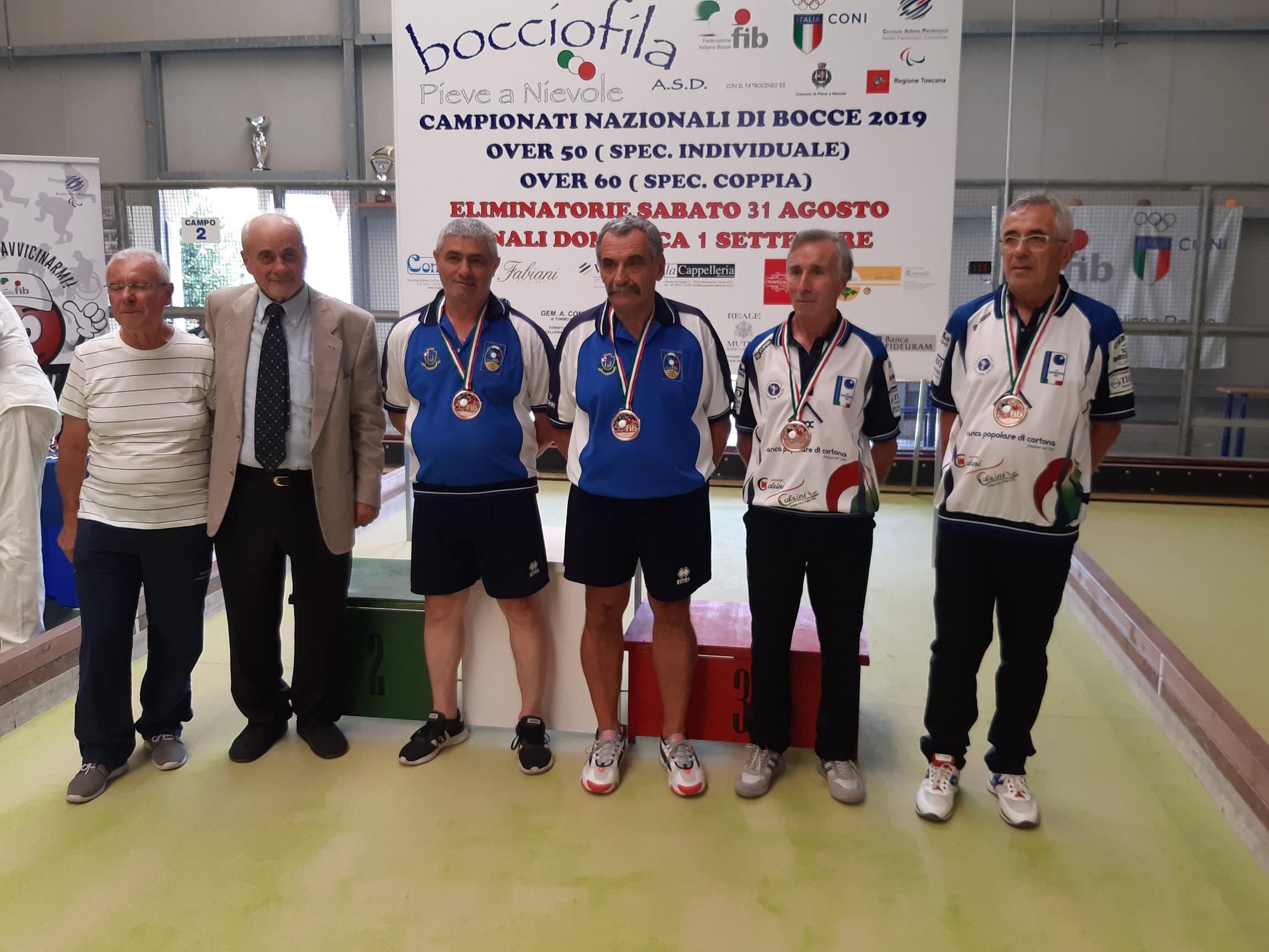 I cortonesi Pastonchi e Lucarini sul podio ai Campionati Italiani