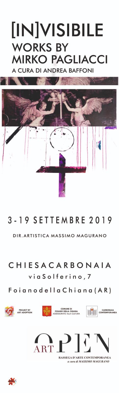 """Si conclude a Foiano, con una personale di Mirko Pagliacci, """"Open art: Carbonaia contemporanea"""""""