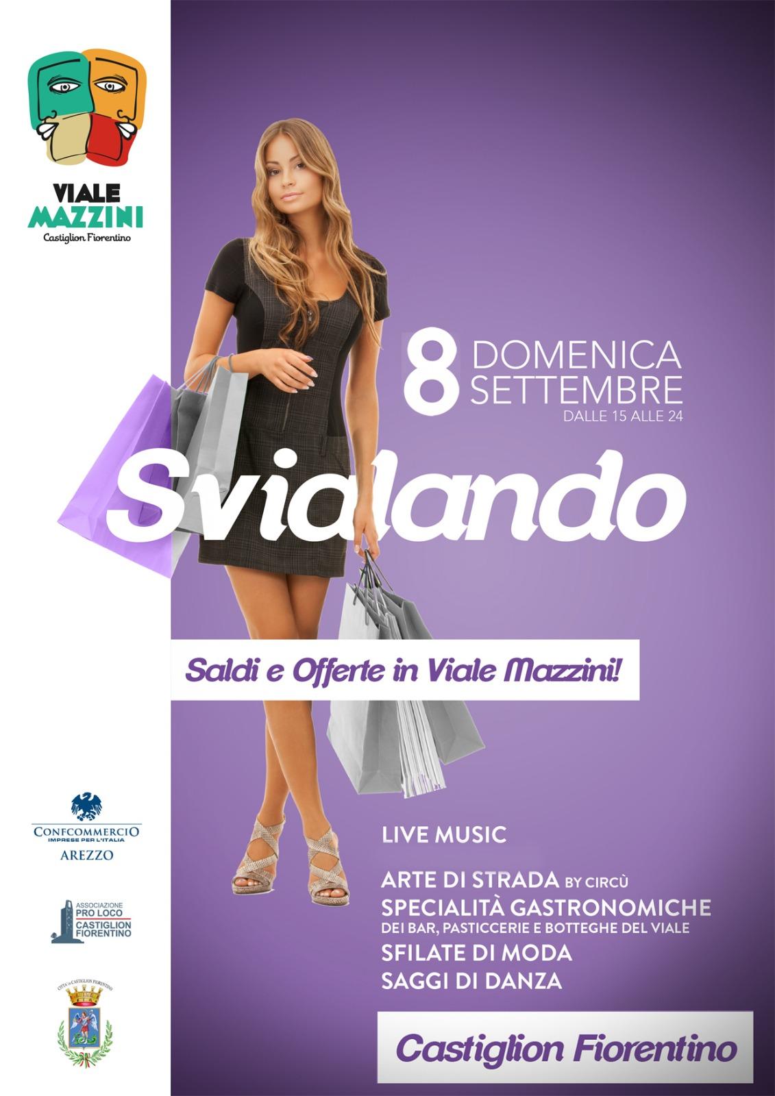 """""""Svialando"""", domenica 8 settembre a Castiglion Fiorentino"""