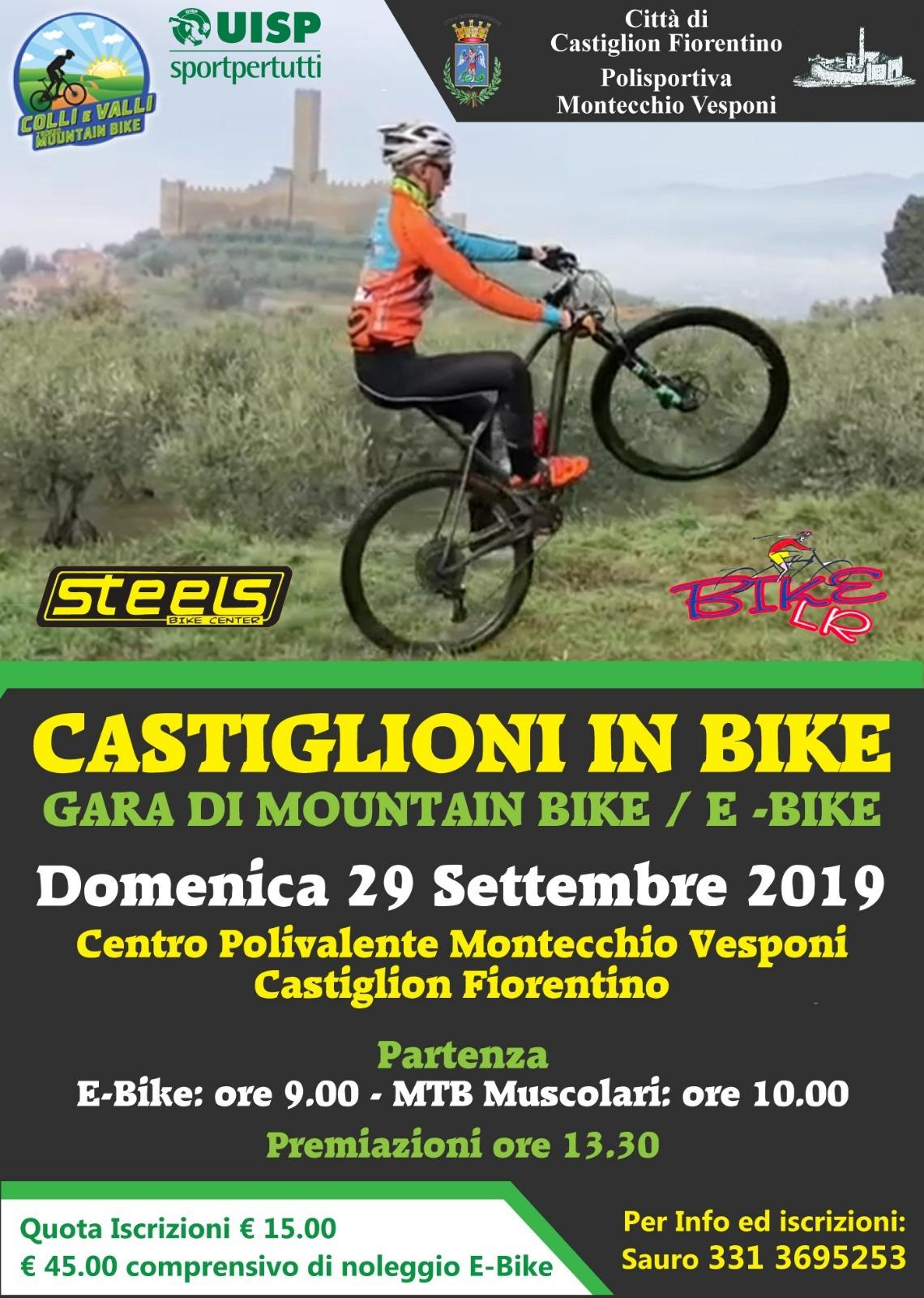 """""""Castiglioni in Bike"""", Domenica 29 settembre"""
