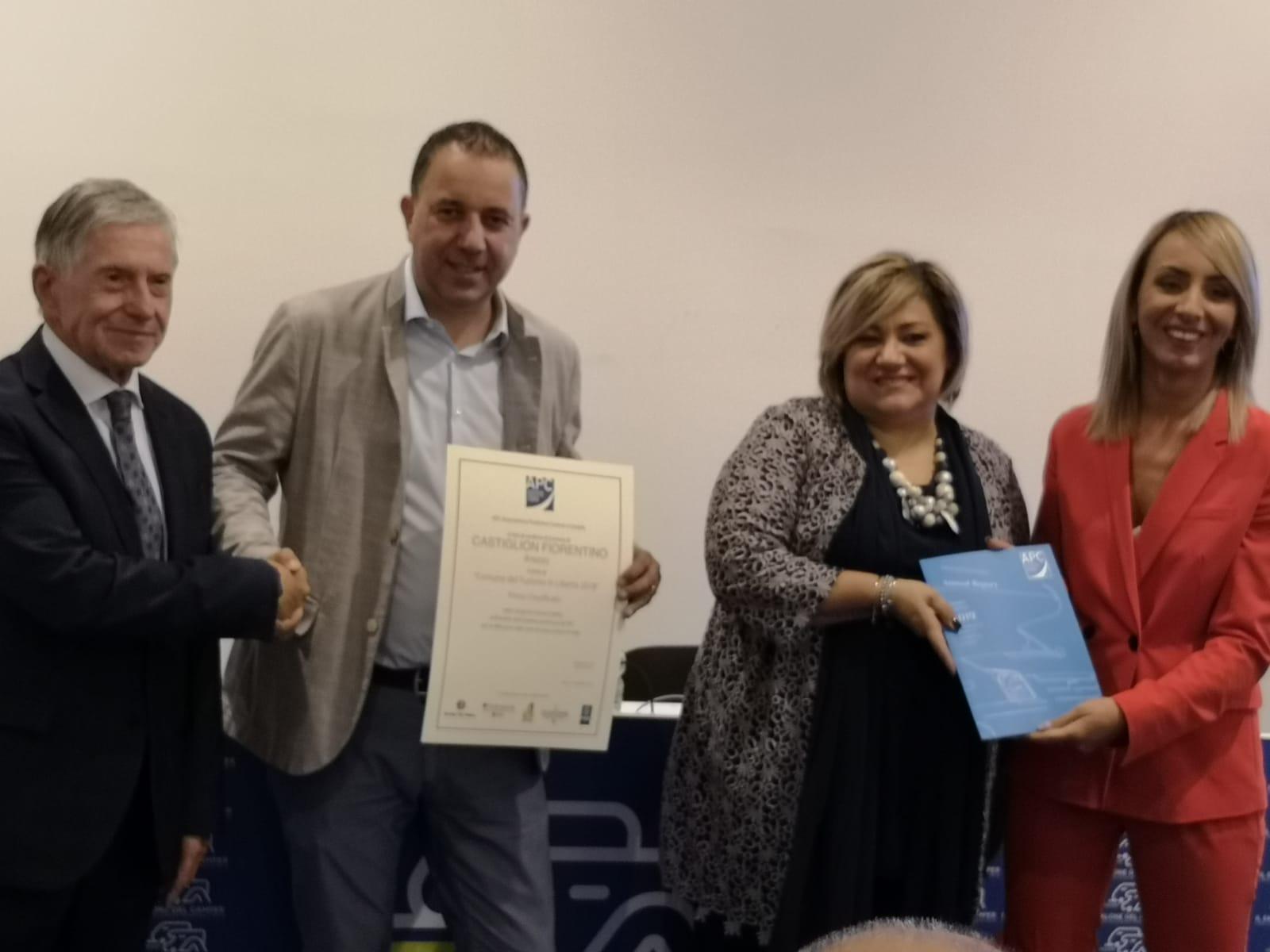 Castiglion Fiorentino premiato al Salone del Camper di Parma