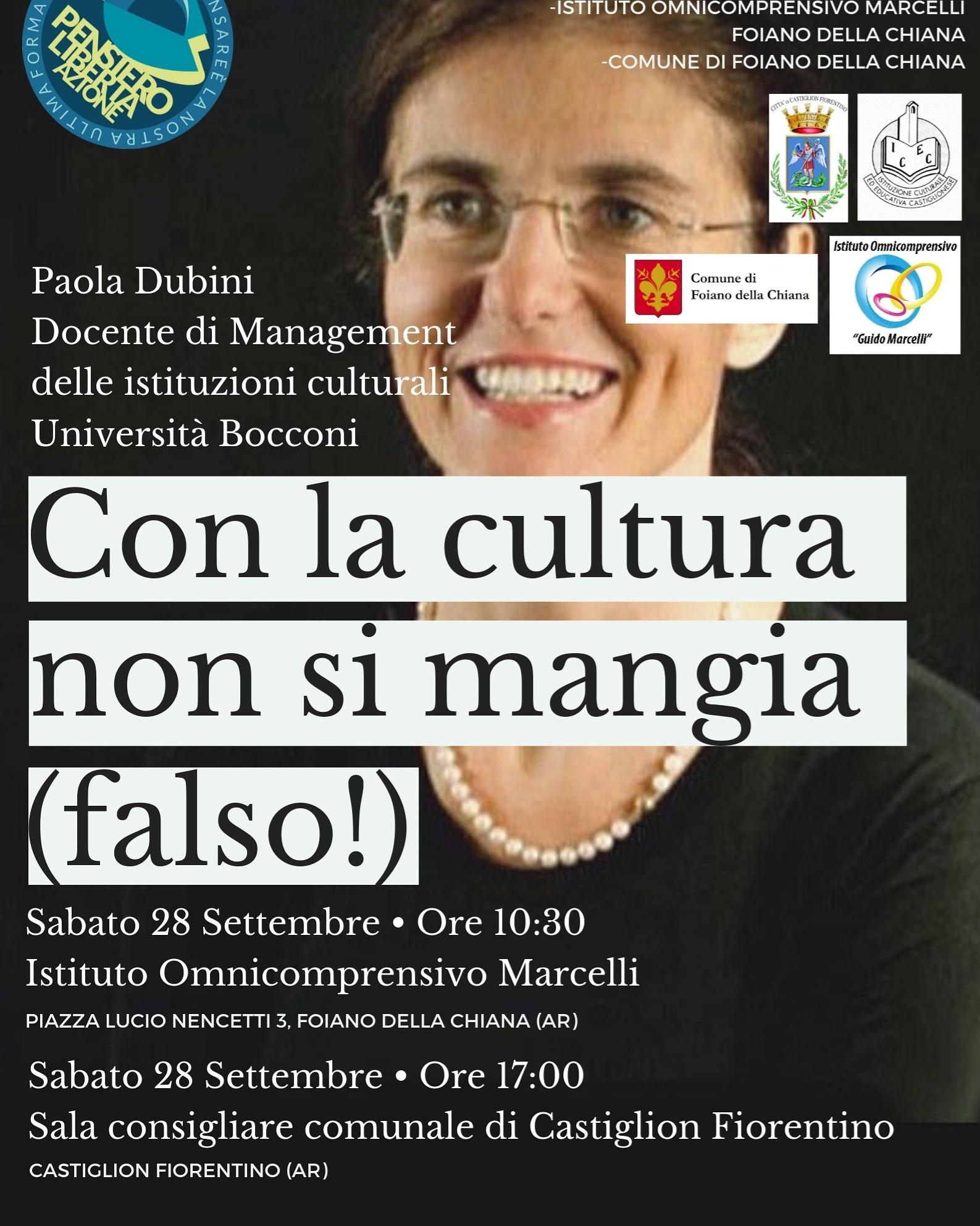 """""""Con la cultura non si mangia (falso!)"""" Convegno domani a Palazzo San Michele"""