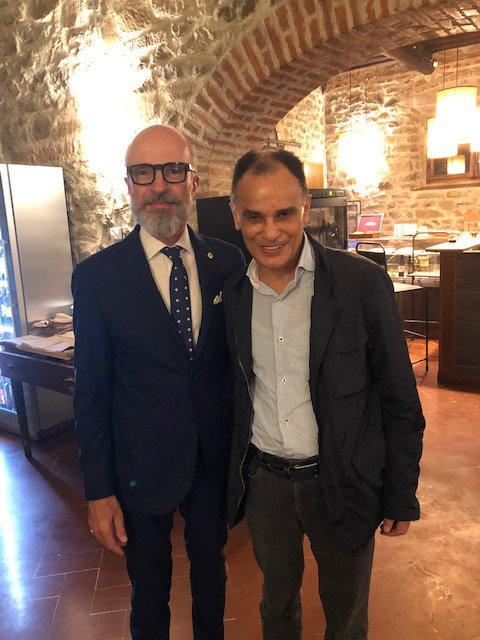 Magdi Allam ospite del Lions Club Lucignano e Val d'Esse