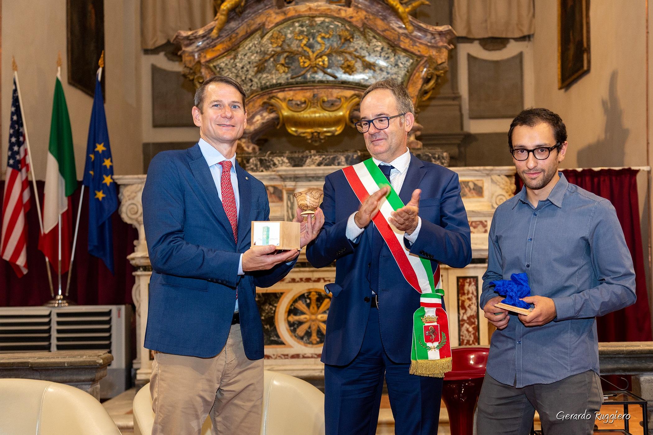 Consegnato all'Università della Georgia il Premio CortonAntiquaria