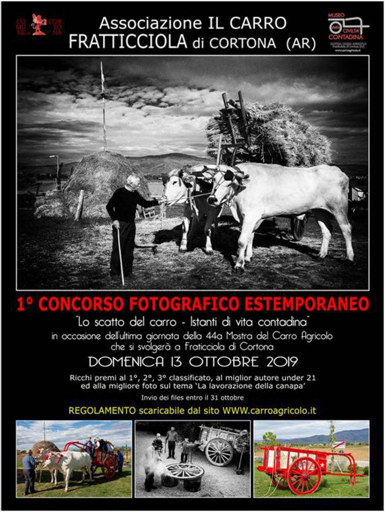 """Primo Concorso fotografico estemporaneo """"LO SCATTO DEL CARRO – Istanti di vita contadina"""""""