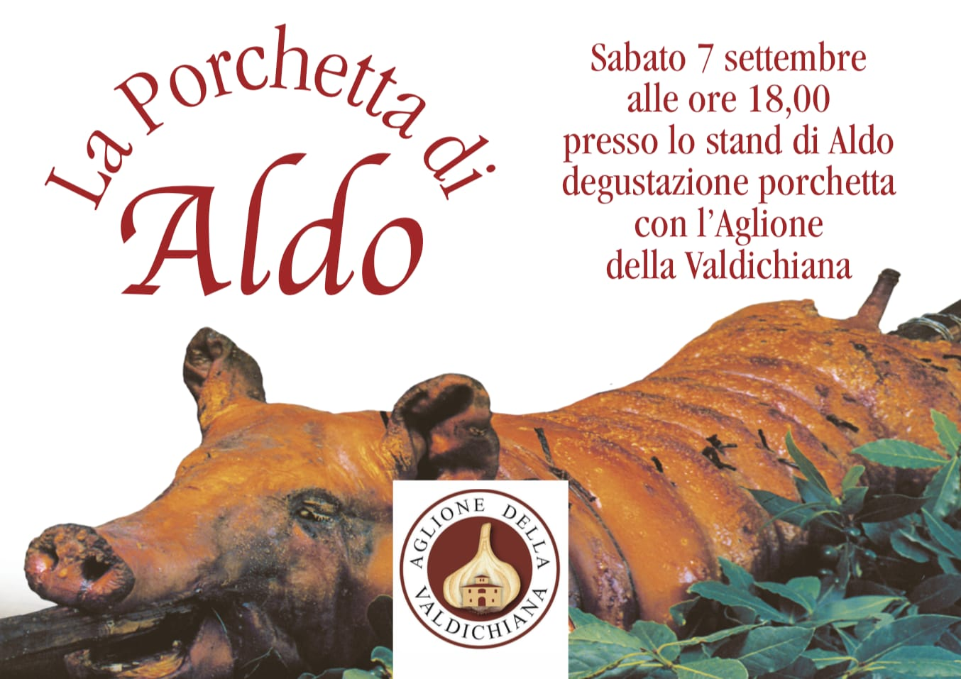 A Monte San Savino la Porchetta incontra l'aglione della Valdichiana