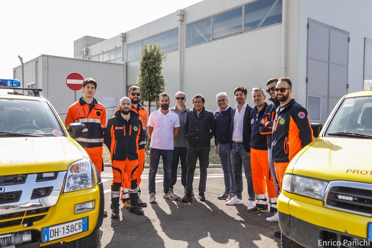 La nuova sede della VAB di Castiglion Fiorentino si dota di un idrante