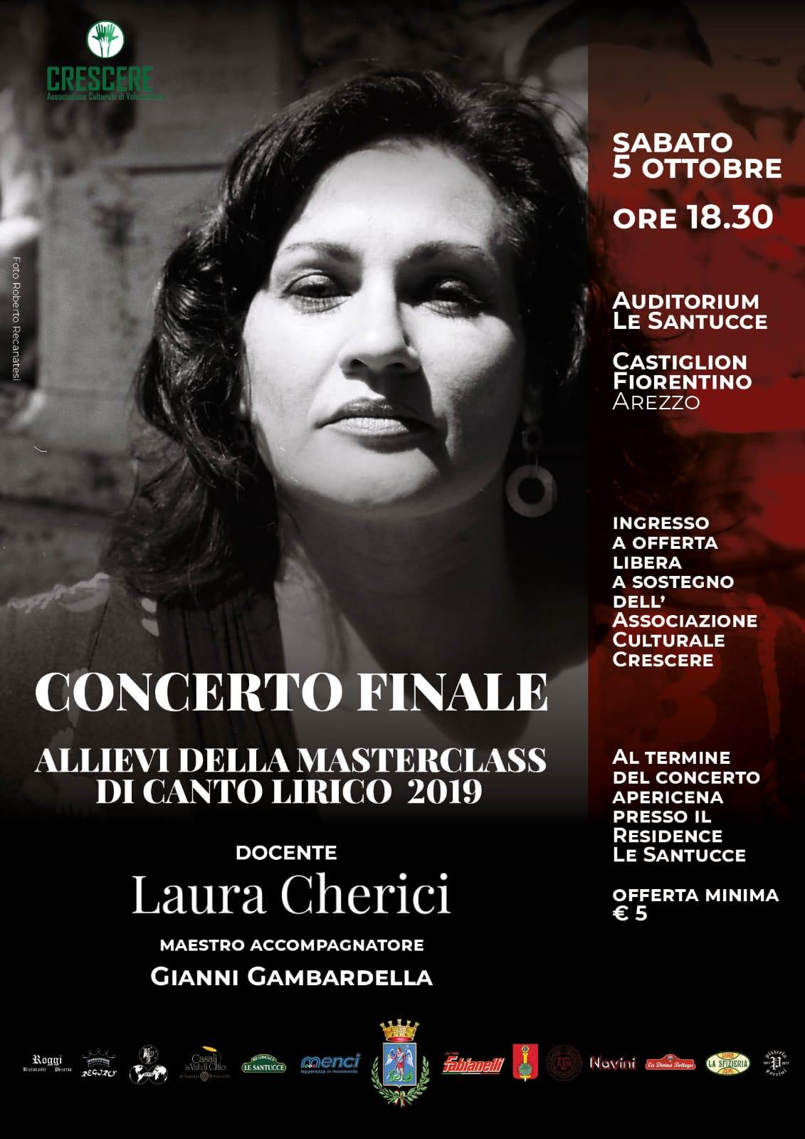 Masterclass in canto lirico con Laura Cherici: formazione e solidarietà