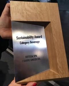 Bolzano Sustainability Award a Ginger Bio Bottega