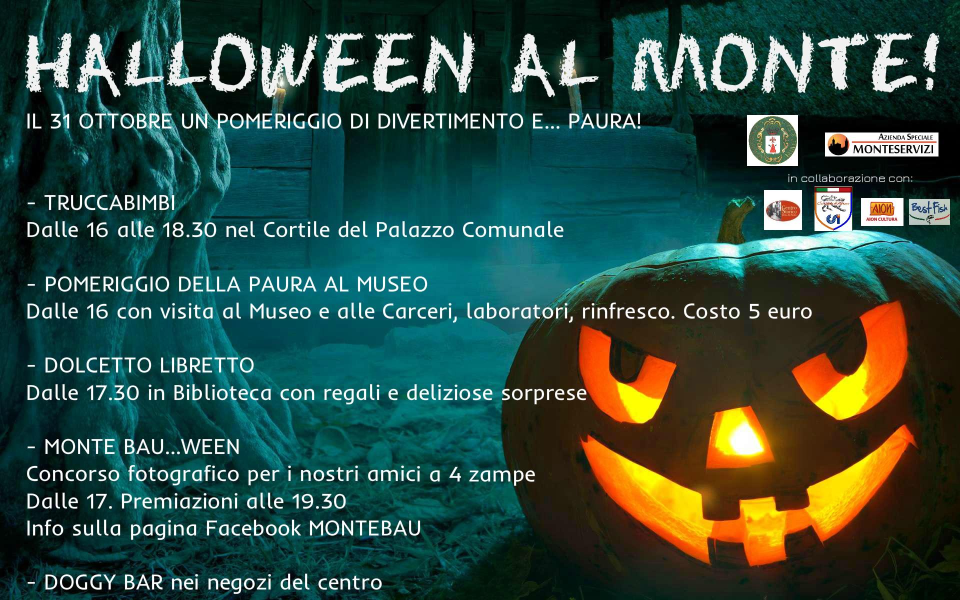 Halloween al Monte, un pomeriggio di divertimenti