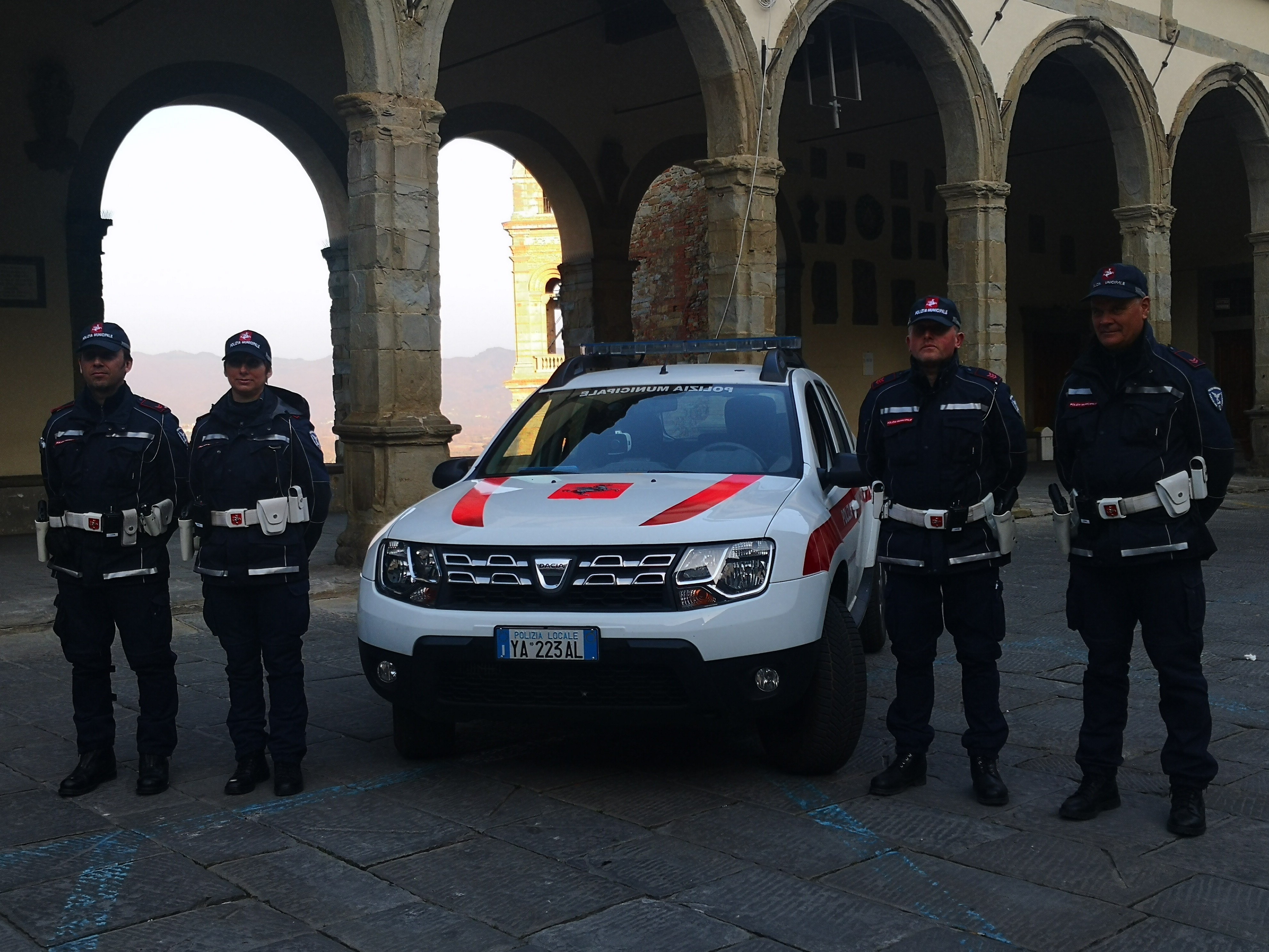 Castiglion Fiorentino, Polizia Municipale in azione