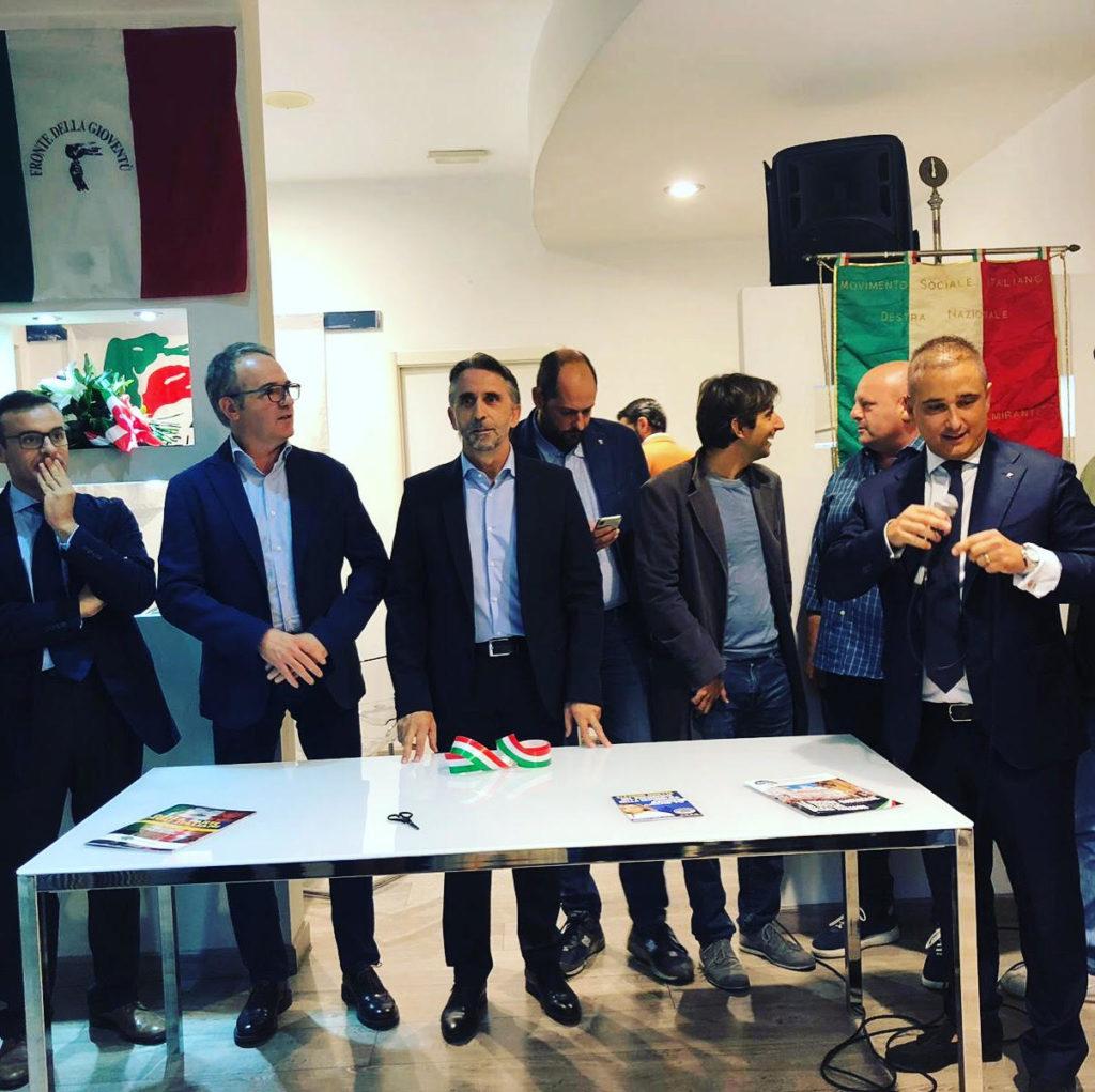 Inaugurata la sede di Fratelli d'Italia a Cortona