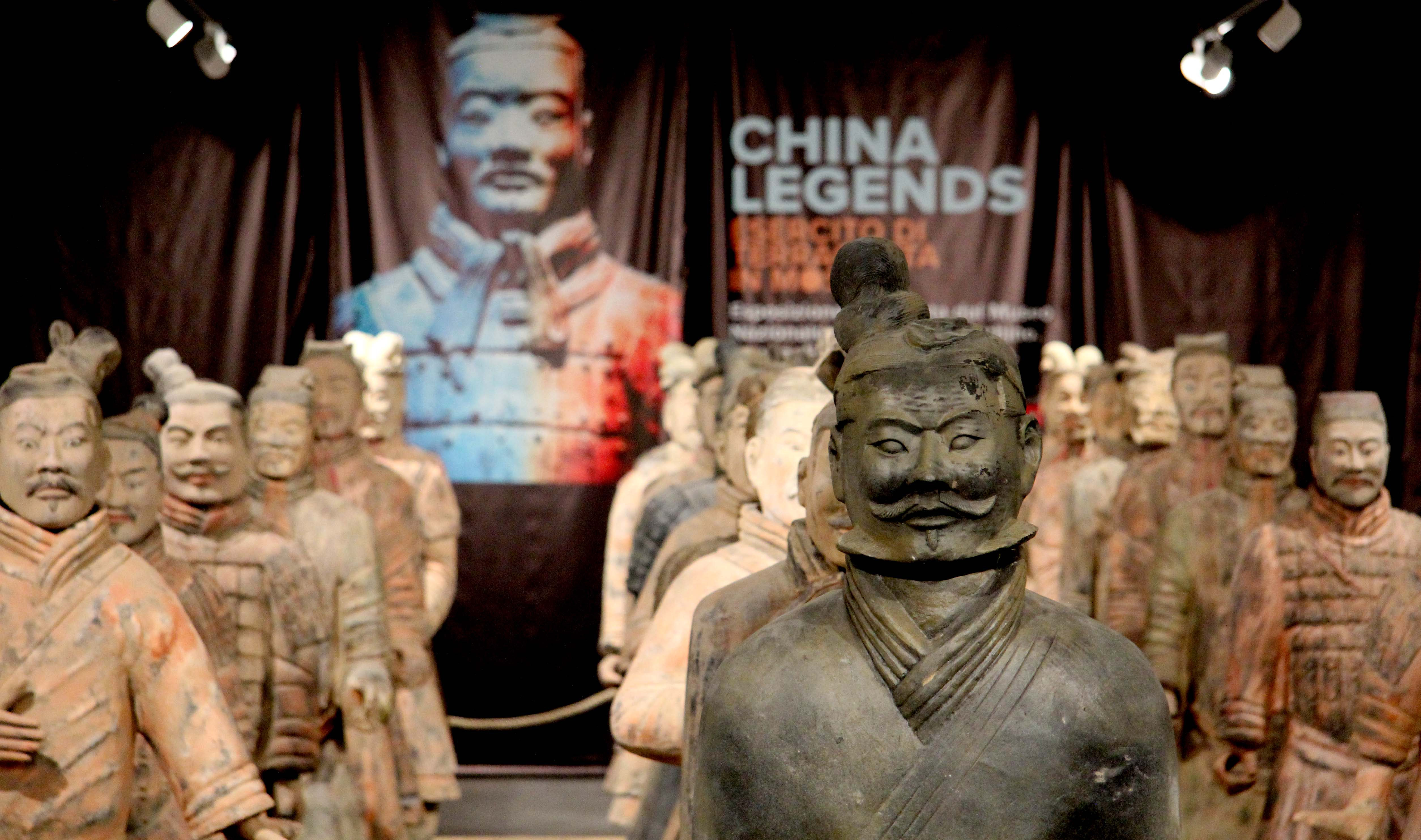 China Legends, i guerrieri di terracotta in mostra all'Outlet