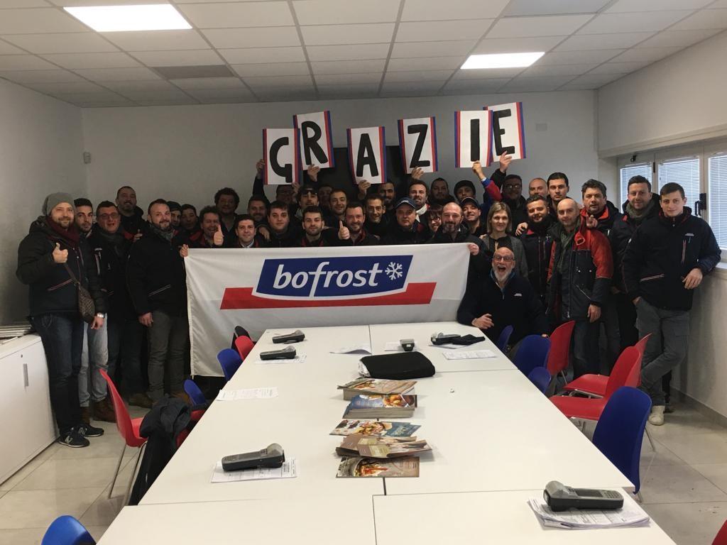 Nuova sede di Bofrost a Civitella