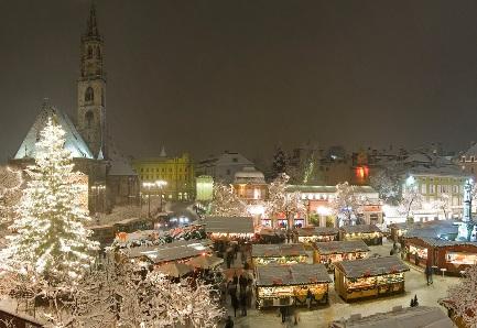 A Bolzano torna il Mercatino di Natale