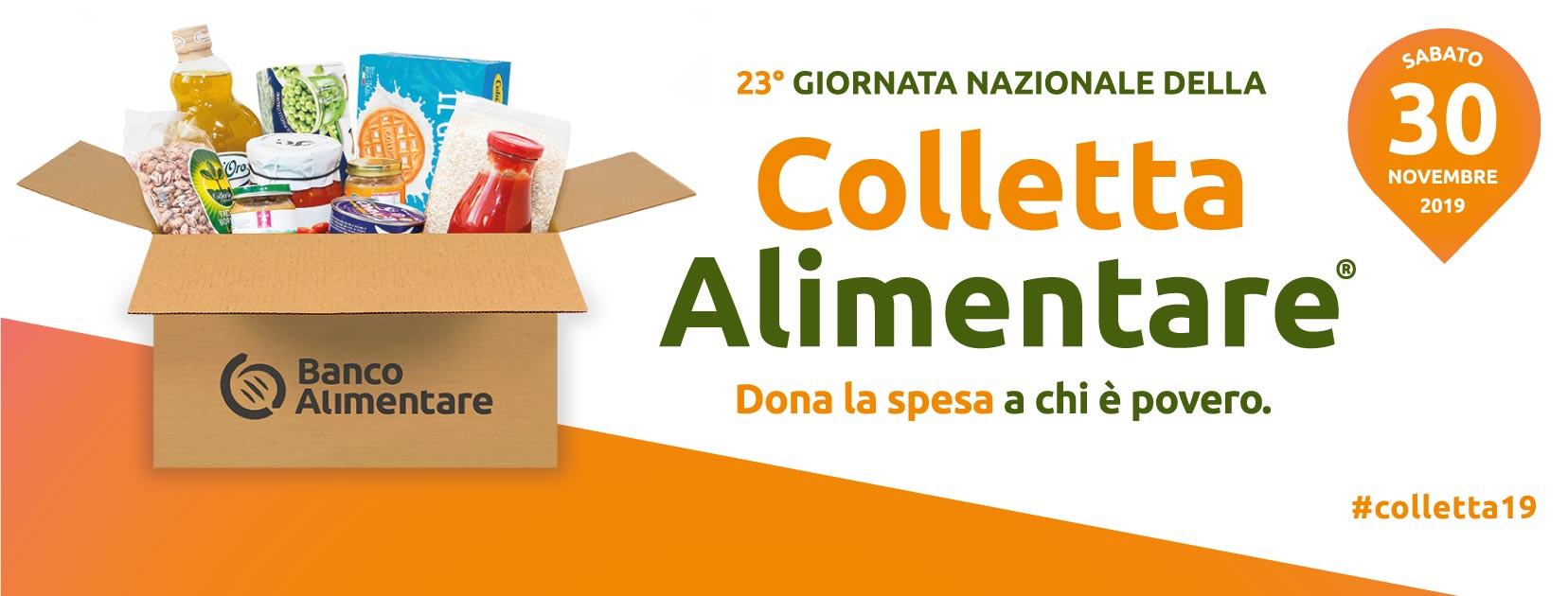 Grande successo per la Colletta Alimentare di sabato 30 novembre. A Cortona, raccolti quasi 34 quintali di alimenti