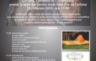Luca Pacioli e Leonardo: incontro promosso dai Lions a Cortona