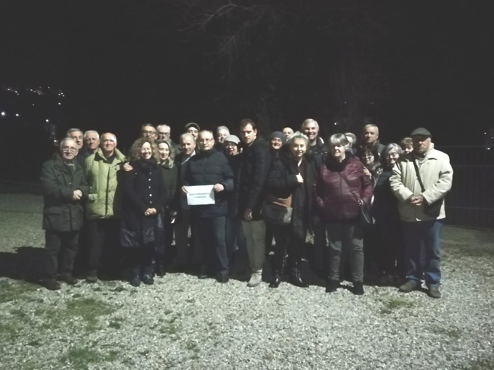 Il gruppo PD - Insieme per Cortona dalla parte dei cittadini di via XXV Aprile