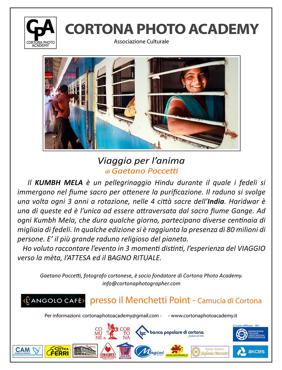 'Viaggio per l' anima', la mostra fotografica di Gaetano Poccetti