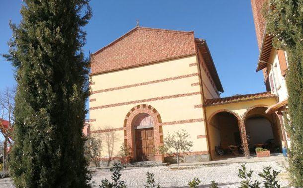 Una grande croce di ferro per la Chiesa di Centoia