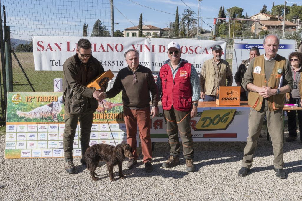 A Lucignano successo per la gara per cani da ferma e da cerca