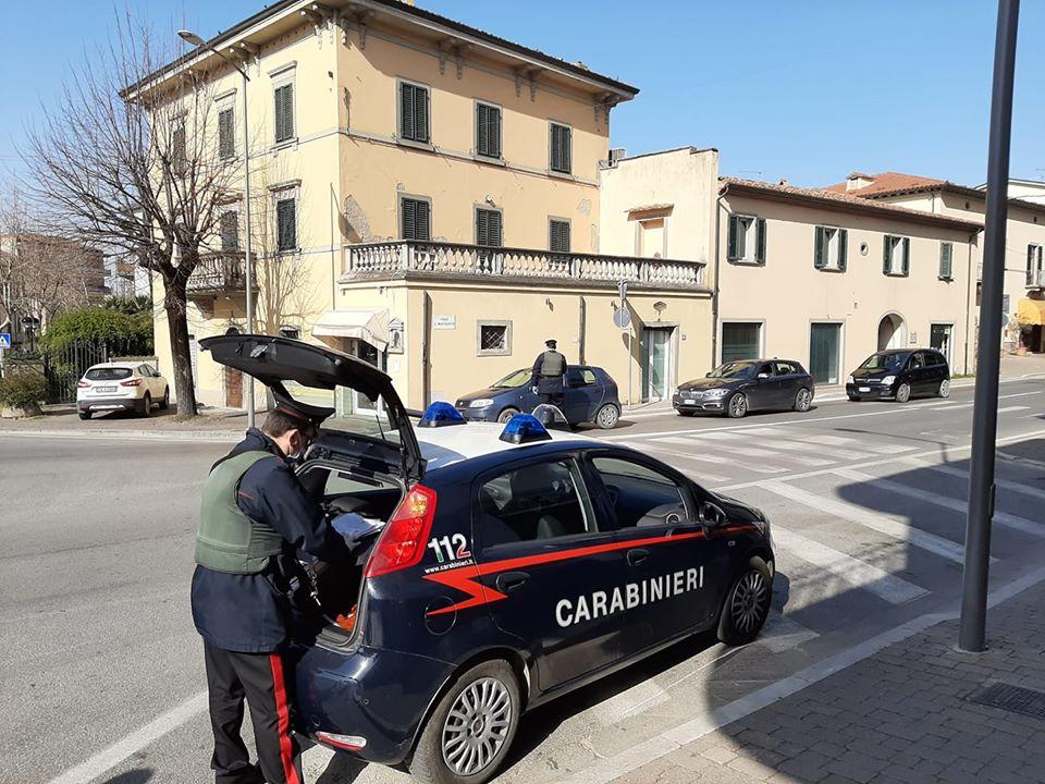 Emergenza Corona Virus, Meoni ringrazia i Carabinieri